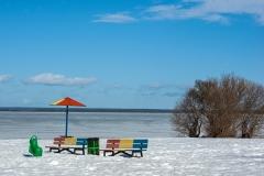 Суровые пляжи Ленобласти